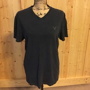 🦅Navy Men's American Eagle V-Neck